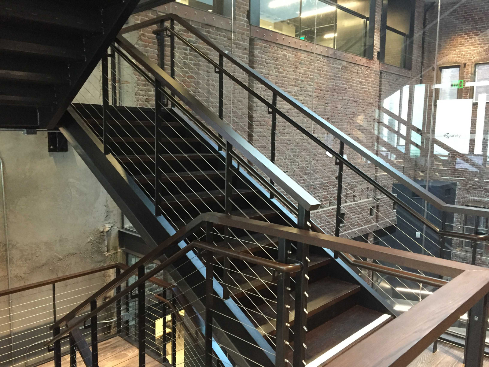 San Francisco Commercial 3 Story Staircase Project