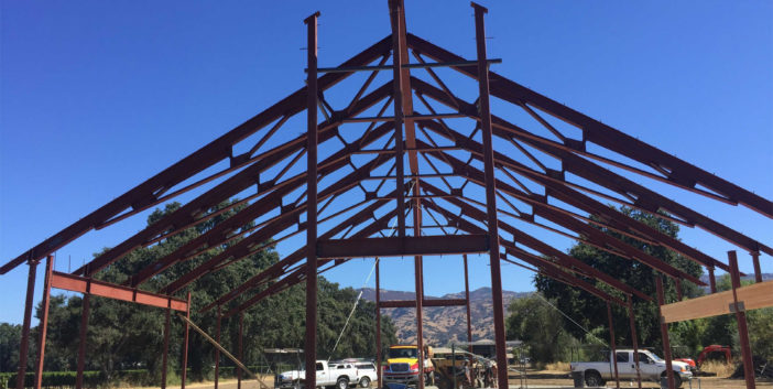 Napa Structural Steel Barn Project IMG10