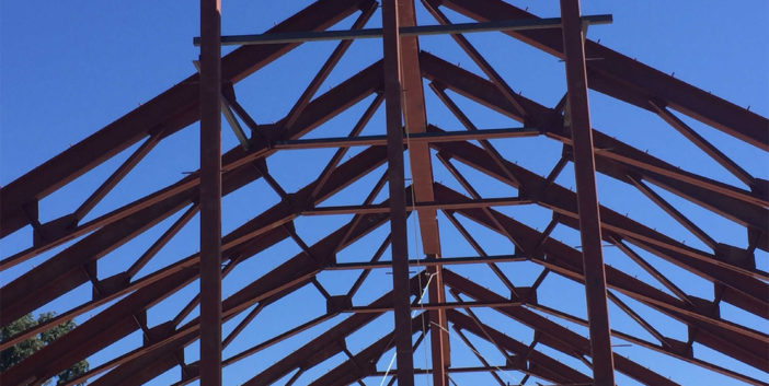 Napa Structural Steel Barn Project IMG11