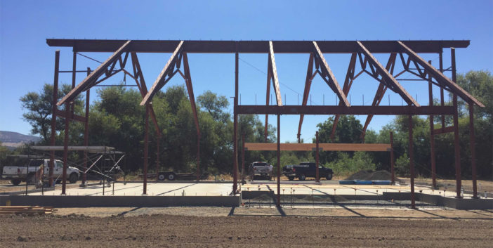 Napa Structural Steel Barn Project IMG13