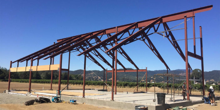 Napa Structural Steel Barn Project IMG06
