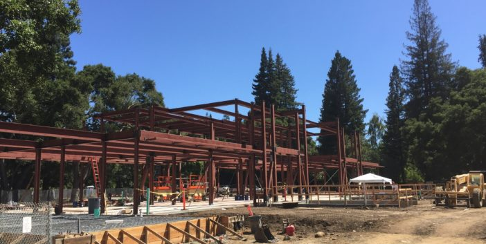 Atherton Portola Valley Steel Construction Project - 172