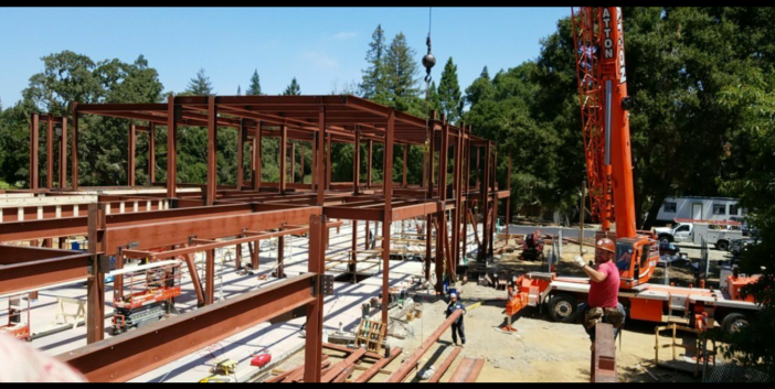 Atherton Portola Valley Steel Construction Project - 4177